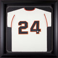 Baseball Collectibles:Uniforms, Willie Mays Signed New York Giants Jersey....