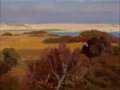 Fine Art - Painting, American:Contemporary   (1950 to present)  , ROGER VAN DAMME (American, b. 1921). Sand Dunes, 1976. Oilon canvas. 18 x 24 inches (45.7 x 61.0 cm). Signed and dated ...