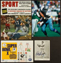 Football Collectibles:Others, Dallas Cowboys Greats Signed Memorabilia Lot of 4....