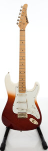 Musical Instruments:Electric Guitars, 1986 Lotus Two-Tone Solid Body Electric Guitar, Serial # 8607239....