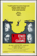 """Movie Posters:Mystery, End of the Game (20th Century Fox, 1976). One Sheet (27"""" X 41"""")Flat Folded. Mystery.. ..."""