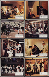 """Bang the Drum Slowly (Paramount, 1973). Lobby Card Set of 8 (11"""" X 14""""). Sports. ... (Total: 8 Items)"""