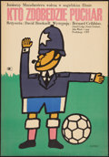 "Movie Posters:Sports, Cup Fever (CWF, 1967). Polish One Sheet (23"" X 33.25""). Sports.. ..."