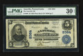National Bank Notes:Pennsylvania, Annville, PA - $5 1902 Plain Back Fr. 606 The Annville NB Ch. #2384. ...