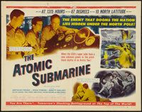 """The Atomic Submarine (Allied Artists, 1959). Half Sheet (22"""" X 28"""") Style B. Science Fiction"""
