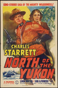 """Movie Posters:Western, North of the Yukon (Columbia, 1939). One Sheet (27"""" X 41""""). Western.. ..."""