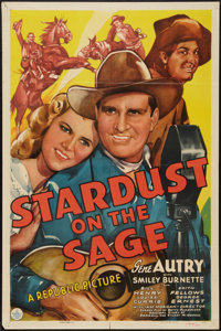 """Stardust on the Sage (Republic, 1942). One Sheet (27"""" X 41""""). Western"""