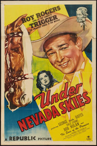 "Under Nevada Skies (Republic, 1946). One Sheet (27"" X 41""). Western"