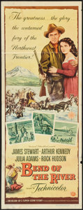 "Movie Posters:Western, Bend of the River (Universal International, 1952). Insert (14"" X 36""). Western.. ..."