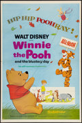 "Movie Posters:Animation, Winnie the Pooh (Buena Vista, 1969). One Sheet (27"" X 41"").Animation.. ..."