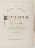 Books:Americana & American History, [Los Angeles]. An Illustrated History of Los Angeles CountyCalifornia. Lewis, 1889. First edition. Quarto. Publ...