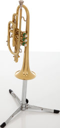 Musical Instruments:Horns & Wind Instruments, 1952 Olds Ambassador Brass Coronet, Serial # 74882. ...