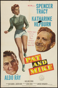 "Pat and Mike (MGM, 1952). One Sheet (27"" X 41""). Comedy"