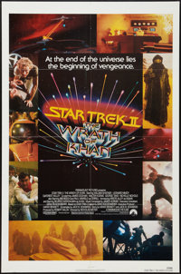"""Star Trek II: The Wrath of Khan and Other Lot (Paramount, 1982). One Sheets (2) (27"""" X 41""""). Science Fiction..."""