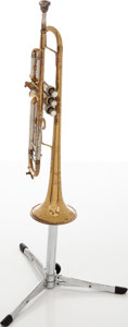 Musical Instruments:Horns & Wind Instruments, Circa 1962 Bach Stardivarius Brass Trumpet, Serial # 22606....