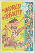 "Movie Posters:Short Subject, Universal-International Miss Universe Winners of 1955 (UniversalInternational, 1955). One Sheet (27"" X 41""). Short Subject...."