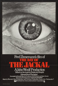 "The Day of the Jackal (Universal, 1973). British One Sheet (27"" X 40"") Flat Folded. Thriller"