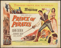 "Movie Posters:Adventure, Prince of Pirates (Columbia, 1953). Half Sheet (22"" X 28"").Adventure.. ..."