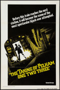 """Movie Posters:Crime, The Taking of Pelham One Two Three (United Artists, 1974). One Sheet (27"""" X 41"""") Advance Flat Folded. Crime.. ..."""