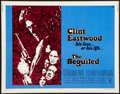 """Movie Posters:Thriller, The Beguiled (Universal, 1971). Half Sheet (22"""" X 28""""). Thriller.. ..."""