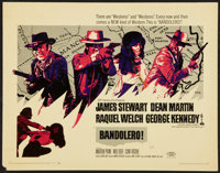 "Bandolero! & Other Lot (20th Century Fox, 1968). Half Sheets (2) (22"" X 28""). Western. ... (Total: 2 I..."