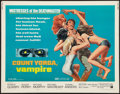 """Movie Posters:Horror, Count Yorga, Vampire & Other Lot (American International, 1970). Half Sheets (2) (22"""" X 28""""). Horror.. ... (Total: 2 Items)"""