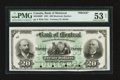 Canadian Currency: , Montreal, PQ - The Bank of Montreal $20 Jan. 2, 1891 Ch. # 505-40-06P Proof. ...
