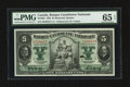 Canadian Currency: , Montreal, PQ - Banque Canadienne Nationale $5 Feb. 1, 1925 Ch. #85-10-02. ...