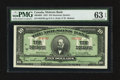 Canadian Currency: , Montreal, PQ- The Molsons Bank $10 July 3, 1922 Ch. # 490-40-04....