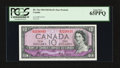 Canadian Currency: , BC-32a $10 1954 Devils' Face. ...