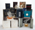 Art Glass:Lalique, A COLLECTION OF TWENTY-TWO MODERN LALIQUE PERFUMES . 20th century .... (Total: 22 Items)