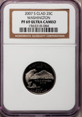 Proof Statehood Quarters, 2007-S 25C Washington Clad PR69 Ultra Cameo NGC. PCGS Population (2237/205). Numismedia Wsl. Price for ...