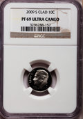 Proof Roosevelt Dimes, 2009-S 10C Clad PR69 Ultra Cameo NGC. PCGS Population (1064/417).Numismedia Wsl. Price for problem fre...