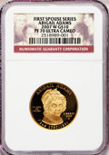 Modern Issues, 2007-W G$10 Abigail Adams PR70 Ultra Cameo NGC. Ex: First SpouseSeries. NGC Census: (0). PCGS Population (283). Numismedi...