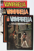 Magazines:Horror, Vampirella #6-9 Group (Warren, 1970-71) Condition: Average FN+.... (Total: 4 Comic Books)