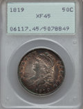 Bust Half Dollars: , 1819 50C XF45 PCGS. PCGS Population (59/236). NGC Census: (47/238).Mintage: 2,208,000. Numismedia Wsl. Price for problem f...