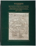 Books:Books about Books, [Books About Books]. The Library of H. Bradley Martin: Highly Important English Literature. Sotheby's, 1990. Fir...