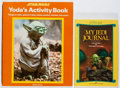 Books:Children's Books, [Star Wars]. Group of Two Children's Books. Various, 1981-1983.First edition, first printing. Journal has a few charming ch...(Total: 2 Items)