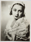 Autographs:Celebrities, Irina Baronova (1919-2008, Russian Ballerina). Signed Photograph. Approx. 7.75 x 5.5 inches. Near fine....