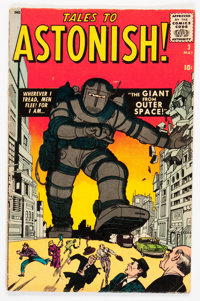 Tales to Astonish #3 (Marvel, 1959) Condition: GD/VG