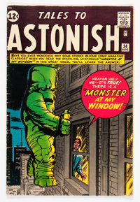 Tales to Astonish #34 (Marvel, 1962) Condition: VG/FN
