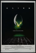 "Movie Posters:Science Fiction, Alien (20th Century Fox, 1979). Poster (40"" X 60""). Sci-Fi Horror.Starring Sigourney Weaver, Tom Skerritt, Veronica Cartwri..."