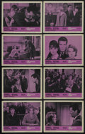 """Movie Posters:Drama, The Children's Hour (United Artists, 1962). Lobby Card Set of 8(11"""" X 14""""). Drama. Starring Audrey Hepburn, Shirley MacLain...(Total: 8 Items)"""