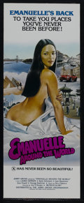 "Movie Posters:Adventure, Emanuelle Around the World (Jerry Gross Organization, 1980). Insert(14"" X 36""). Adult. Starring Laura Gemser, Karen Schuber..."