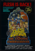 """Movie Posters:Comedy, Flesh Gordon Meets the Cosmic Cheerleaders (New Horizons, 1989). One Sheet (27"""" X 40""""). Comedy/Science Fiction. Starring Vin..."""