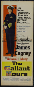 "Movie Posters:War, The Gallant Hours (United Artists, 1960). Insert (14"" X 36""). War.Starring James Cagney, Dennis Weaver, Ward Costello and R..."