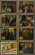 """Movie Posters:Comedy, A Gentleman at Heart (20th Century Fox, 1942). Lobby Card Set of 8 (11"""" X 14""""). Comedy. Starring Cesar Romero, Carole Landis... (Total: 8 Items)"""