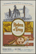 "Movie Posters:Adventure, Helen of Troy (Warner Brothers, 1956). One Sheet (27"" X 41"").Adventure. Starring Rossana Podestà, Jacques Sernas, Cedric Ha..."