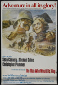 "Movie Posters:Adventure, The Man Who Would Be King (Columbia, 1975). Poster (40"" X 60"").Adventure. Starring Sean Connery, Michael Caine, Christopher..."