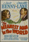 """Movie Posters:Comedy, The Meanest Man in the World (20th Century Fox, 1943). One Sheet (27"""" X 41""""). Comedy. Starring Jack Benny, Priscilla Lane, a..."""